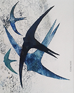 Swifts and Swallows No. 5